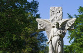 Cemetery Angel — Stock Photo