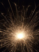 Sparkler Firework — Stock Photo