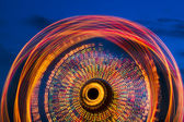 Ferris Wheell at Twilight — Stock Photo