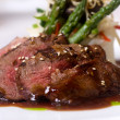 Gourmet fillet mignon steak - Stock Photo