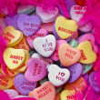 Valentine heart candy — Stock Photo