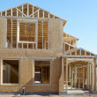 Construction of new house — Stock Photo