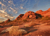 Red rock buttes, Phoenix,AZ — Stock Photo