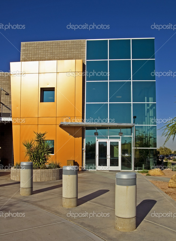 Modern Commercial Building  Stock Photo #8557497