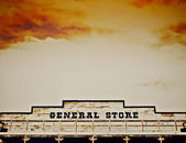 General Store in The Wild West of Arizona — Stok fotoğraf