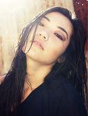 Bela jovem mulher asiática — Foto Stock