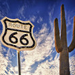 Route 66 west coast — Stock Photo