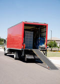 Relocation moving truck — Stock Photo
