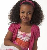 Ragazza carina afro-americana — Foto Stock
