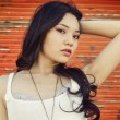 Beautiful young Asian woman — Stock Photo