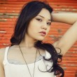 Beautiful young Asian woman — Stockfoto