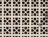 Concrete Screen Block Wall 1950s Palm Springs — Stock Photo