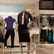 Stock Photo: Fashion retail store
