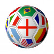 Soccer ball — Stock Photo #10476038