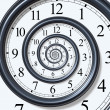 Time Spiral - Stock Photo