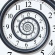 Time Spiral — Stock Photo