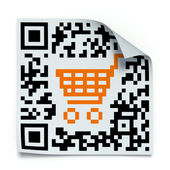 QR code concept — Stock Photo