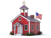 School house — Stock Photo