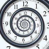 Tiden spiral — Stockfoto