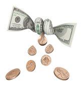 El último centavo — Foto de Stock