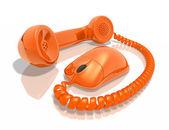 Internet Call — Stock Photo