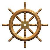 Roda de navios — Fotografia Stock