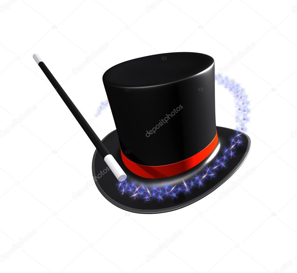Magic hat — Stock Photo #7999629