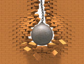 Wrecking Ball — Stockfoto