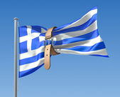 Greek crisis — Stock Photo