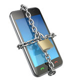 Locked phone — Stock Photo