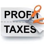 Profit and taxes — Stock Photo #8227899