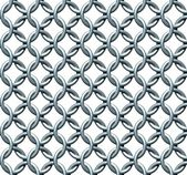 Seamless Chainmail Texture — Stock Photo