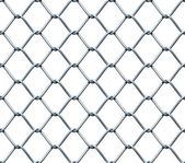 Seamless Chainlink Fence — Stock fotografie