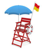 Lifeguard chair — Stock Photo