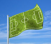Soccer republic — Stock Photo