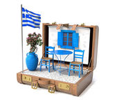 Holiday in Greece — Stock Photo