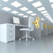 Pracovní místo — Stock fotografie