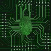 Fingerprint concept — Stock Photo