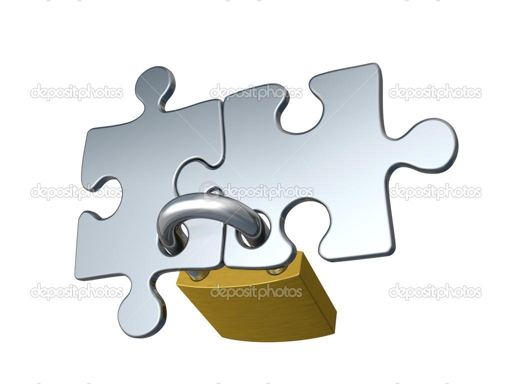 Concept with puzzle — Stock Photo #9397946
