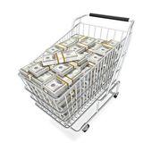 Big shopping — Stock Photo