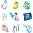 Royalty-Free Stock Vector Image: Vector cartoon style icon set. Part 31. Medicine