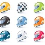 Vector sport equipment icons — Stock Vector