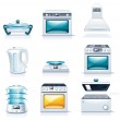 Vector household appliances icons. Part 2 — Stock Vector