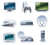 Vector household appliances icons. Part 6 — Stock Vector