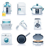 Vector household appliances icons. Part 3 — Stock Vector