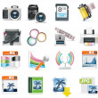 Royalty-Free Stock Vector Image: Vector photography icon set