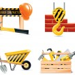 Vector Homebuilding & Renovating icon set. Part 4 — Image vectorielle