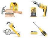 Vector Homebuilding & Renovating icon set. Part 1 — Vetorial Stock