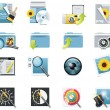 Stock Vector: Vector photography icons. Part 5