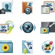 Vector photography icons. Part 4 - Imagen vectorial